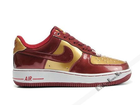 nike air force one rojas